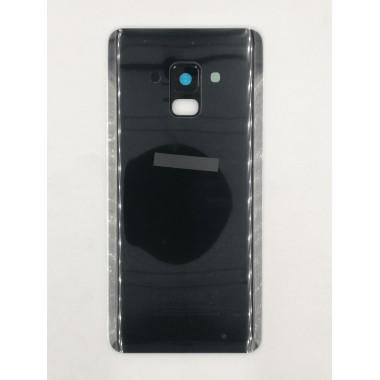 Задняя крышка для Samsung Galaxy A8 (SM-A530F) Черный - Премиум
