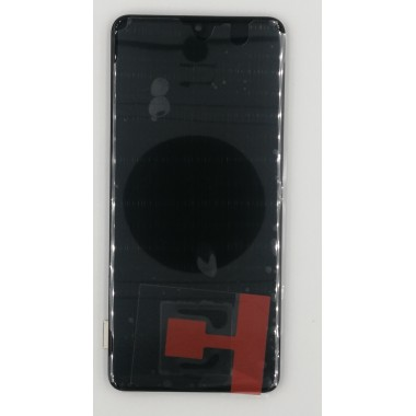 Дисплей (Модуль) для Samsung Galaxy A41 (SM-A415F) в сборе с тачскрином и рамкой Черный - Оригинал