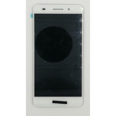 Дисплей (Модуль) для Huawei Y6 II (CAM-L21) в сборе с тачскрином Белый