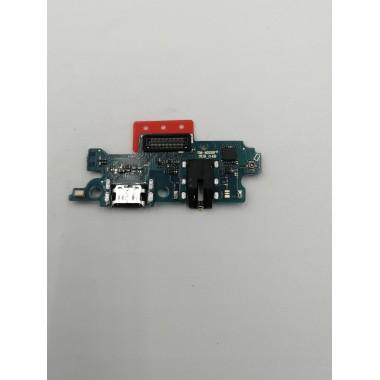 Шлейф для Samsung Galaxy M20 (SM-M205F) плата на системный разъем/разъем гарнитуры/микрофон
