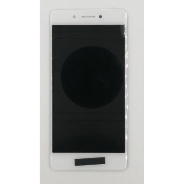 Дисплей (Модуль) для Huawei Honor 6C в сборе с тачскрином Белый
