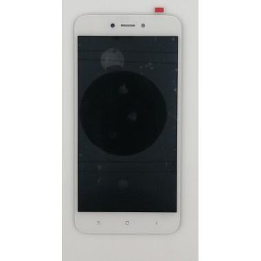 Дисплей (Модуль) для Xiaomi Redmi 5A/Redmi Go в сборе с тачскрином Белый