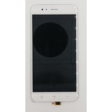 Дисплей (Модуль) для Xiaomi Mi A1/Mi 5X в сборе с тачскрином Белый