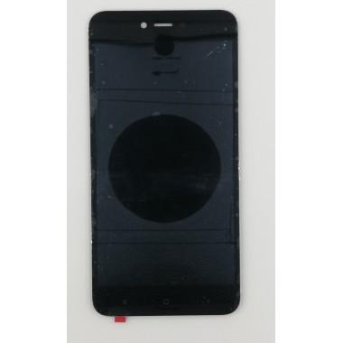 Дисплей (Модуль) для Xiaomi Redmi Note 5A в сборе с тачскрином Черный