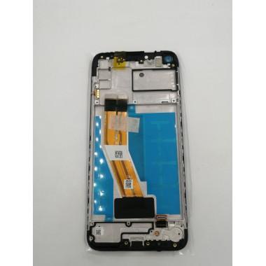 Дисплей (Модуль) для Samsung Galaxy A11 (SM-A115F) в сборе с тачскрином и рамкой Черный - Ориг