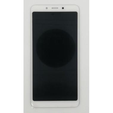 Дисплей (Модуль) для Xiaomi Redmi 6/Redmi 6A в сборе с тачскрином Белый