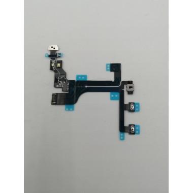 Шлейф для Apple iPhone 5C на кнопки громкости + Power