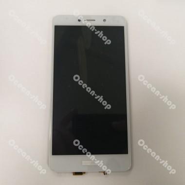 Дисплей (Модуль) для Huawei Honor 6X/GR5 2017 в сборе с тачскрином Белый