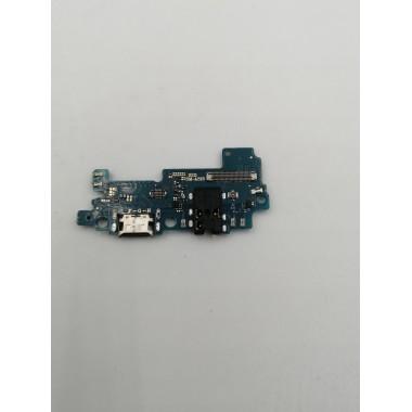 Шлейф для Samsung Galaxy A31 (SM-A315F) плата системный разъем/разъем гарнитуры/микрофон