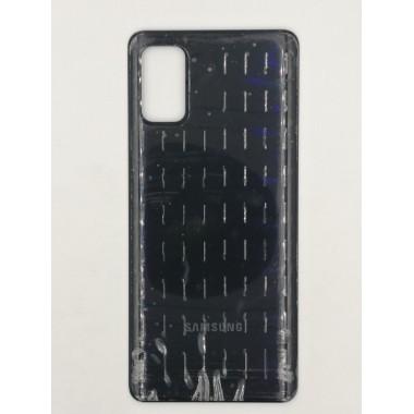 Задняя крышка для Samsung Galaxy A41 (SM-A415F) Черный
