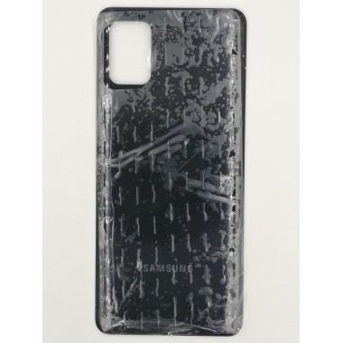 Задняя крышка для Samsung Galaxy A31 (SM-A315F) Черный