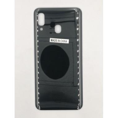 Задняя крышка для Samsung Galaxy A20 (SM-A205F) Черный