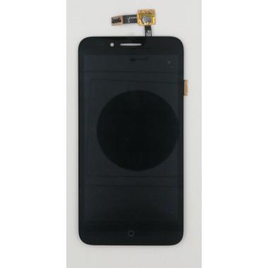 Дисплей (Модуль) для Alcatel OT-7048X в сборе с тачскрином Черный