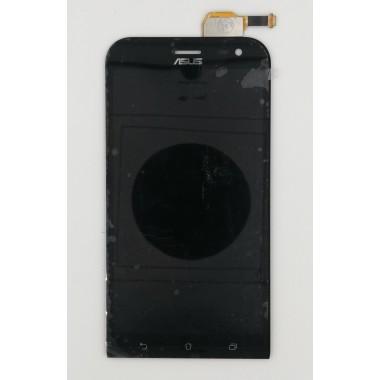 Дисплей (Модуль) для Asus ZenFone Zoom ZX551ML в сборе с тачскрином Черный
