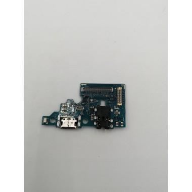 Шлейф для Samsung Galaxy A51 (SM-A515F) плата системный разъем/разъем гарнитуры/микрофон