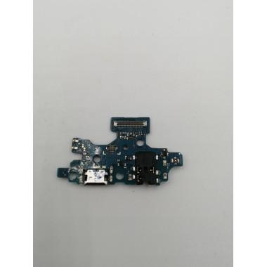 Шлейф для Samsung Galaxy A41 (SM-A415F) плата системный разъем/разъем гарнитуры/микрофон