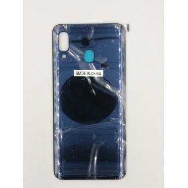 Задняя крышка для Samsung Galaxy A20 (SM-A205F) Синий