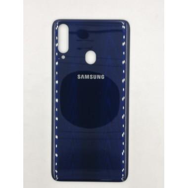 Задняя крышка для Samsung Galaxy A20s (SM-A207F) Синий