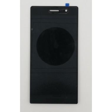 Дисплей (Модуль) для Huawei Ascend P7 в сборе с тачскрином Черный