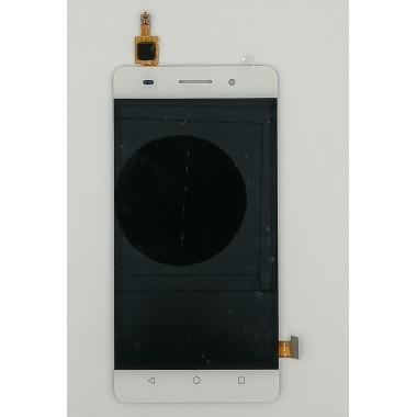 Дисплей (Модуль) для Huawei Honor 4C в сборе с тачскрином Белый