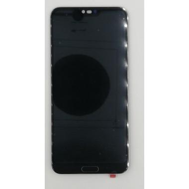 Дисплей (Модуль) для Huawei Honor 10 в сборе с тачскрином Черный (Без отпечатка)