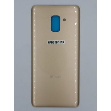 Задняя крышка для Samsung Galaxy A8+ (SM-A730F) Золото