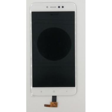 Дисплей (Модуль) для Xiaomi Redmi Note 5A Prime в сборе с тачскрином Белый