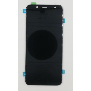 Дисплей (Модуль) для Samsung Galaxy A6 2018 (SM-A600F) в сборе с тачскрином Черный - Amoled