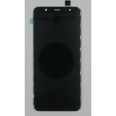 Дисплей (Модуль) для Samsung Galaxy A6+ 2018 (SM-A605F) в сборе с тачскрином Черный - Amoled