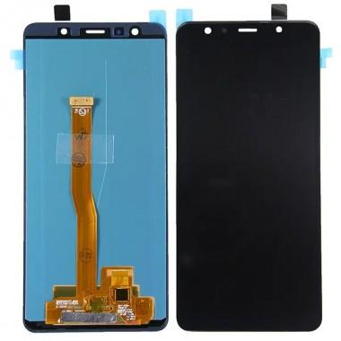 Дисплей (Модуль) для Samsung Galaxy A7 2018 (SM-A750F) в сборе с тачскрином Черный - Amoled
