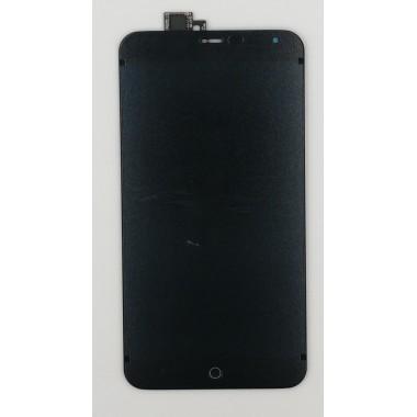 Дисплей (Модуль) для Meizu MX4 в сборе с тачскрином Черный