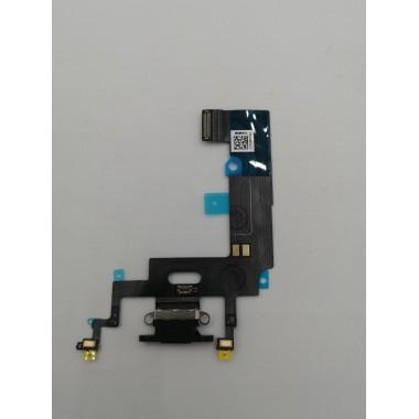 Шлейф для Apple iPhone Xr на системный разъем/микрофон Черный