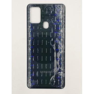 Задняя крышка для Samsung Galaxy A21s (SM-A217F) Черный