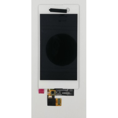 Дисплей (Модуль) для Sony Xperia M5/M5 Dual (E5603/E5633) в сборе с тачскрином Белый