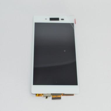 Дисплей (Модуль) для Sony Xperia Z3+ (E6553/E6533) в сборе с тачскрином Белый