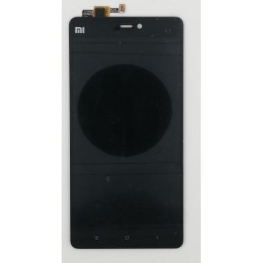 Дисплей (Модуль) для Xiaomi Mi 4S в сборе с тачскрином Черный