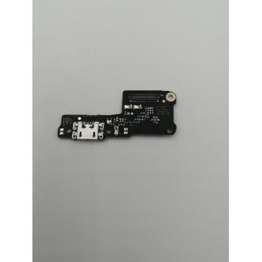 Шлейф для Xiaomi Redmi 7A плата на системный разъем/микрофон