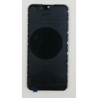 Дисплей (Модуль) для Samsung Galaxy M01 (SM-M015F) в сборе с тачскрином Черный (Узкий коннектор)