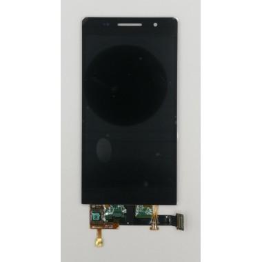 Дисплей (Модуль) для Huawei Ascend P6 в сборе с тачскрином Черный