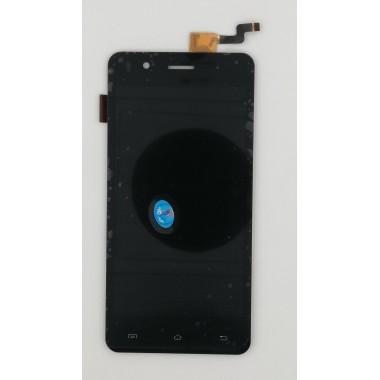 Дисплей (Модуль) для Micromax Q424 Bolt Selfie в сборе с тачскрином Черный