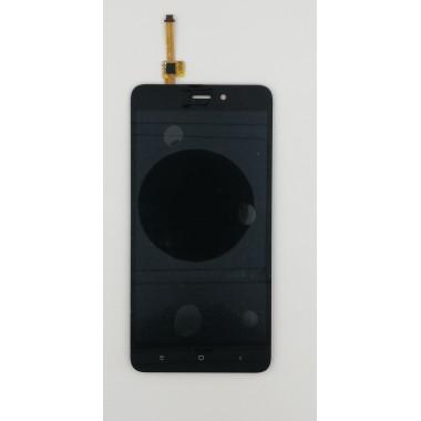 Дисплей (Модуль) для Xiaomi Redmi 4A в сборе с тачскрином Черный