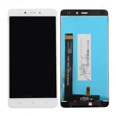 Дисплей (Модуль) для Xiaomi Redmi Note 4 в сборе с тачскрином Белый