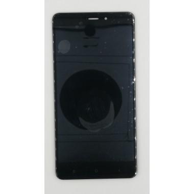 Дисплей (Модуль) для Xiaomi Redmi Note 4 в сборе с тачскрином Черный
