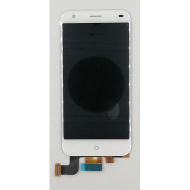 Дисплей (Модуль) для ZTE Blade S6 в сборе с тачскрином Белый