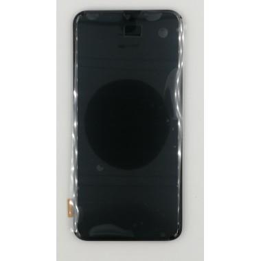 Дисплей (Модуль) для Samsung Galaxy A40 (SM-A405F) в сборе с тачскрином и рамкой Черный - Оригинал