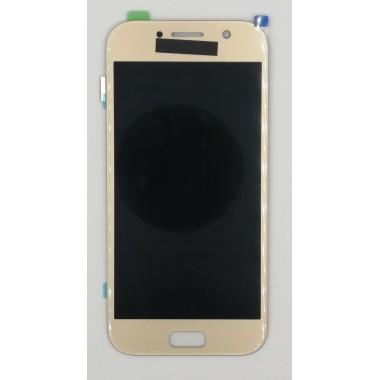 Дисплей (Модуль) для Samsung Galaxy A5 2017 (SM-A520F) в сборе с тачскрином Золото - AA (AMOLED)