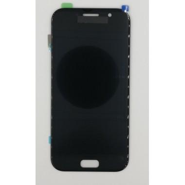 Дисплей (Модуль) для Samsung Galaxy A5 2017 (SM-A520F) в сборе с тачскрином Черный - AA (AMOLED)
