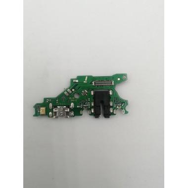 Шлейф для Huawei Nova 3i на системный разъем/разъем гарнитуры/микрофон