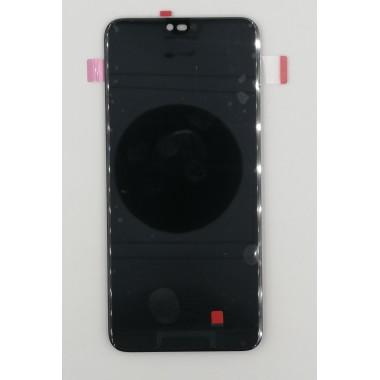 Дисплей (Модуль) для Huawei Honor 10 в сборе с тачскрином Черный - Оригинал (Отпечаток работает)