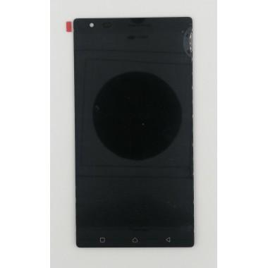 Дисплей (Модуль) для Lenovo Vibe X3 в сборе с тачскрином Черный